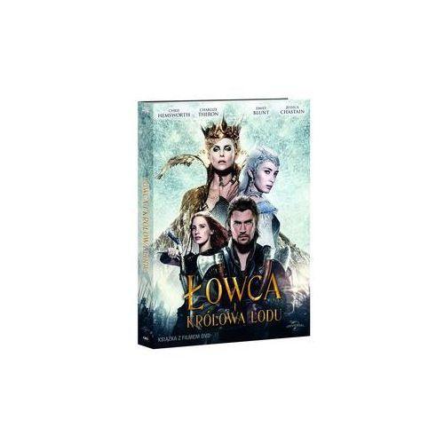 Łowca I Królowa Lodu booklet+DVD. Darmowy odbiór w niemal 100 księgarniach!