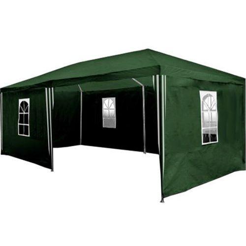 Mks Pawilon ogrodowy 3x6 6 ścianek namiot handlowy - zielony