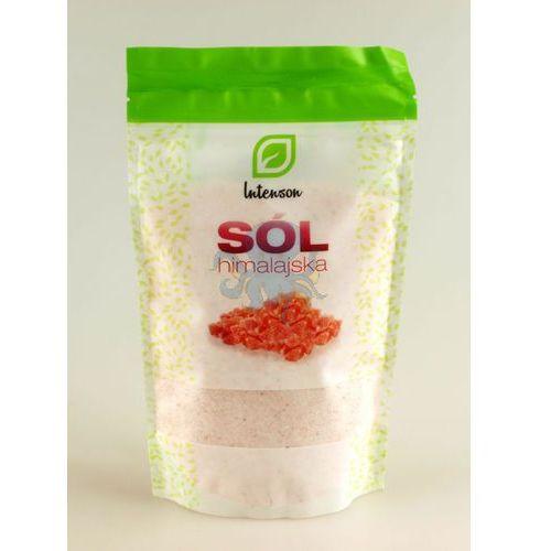 Sól himalajska różowa drobnoziarnista 500g marki Intenson