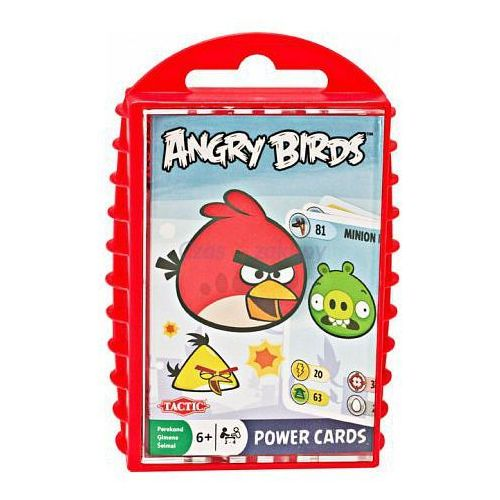 karty do gry angry birds marki Tactic