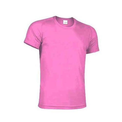173b042f9c8982 Koszulka z nadrukiem z jednej strony sportowa oddychająca termoaktywna T- shirt z własnym indywidualnym nadrukiem xs-10-12-wzrost-152-164 rozowy-fluo  33,21 ...