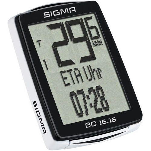 Sigma BC 16.16 - wielofunkcyjny licznik rowerowy przewodowy, 01616