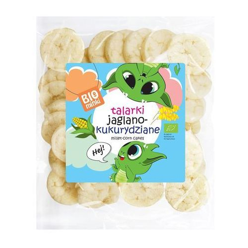 Biominki (przekąski dla dzieci) Talarki jaglano-kukurydziane bio 55 g - biominki