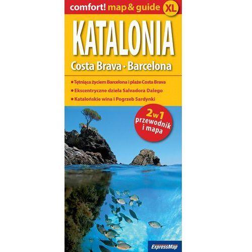 Comfort!map&guide Katalonia, Costa Brava 2w1 (2 str.)