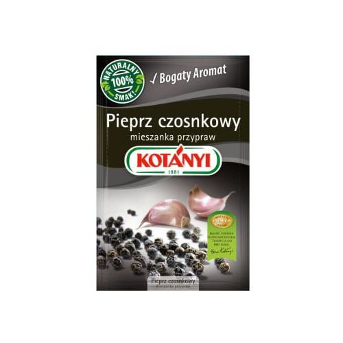 Kotanyi Pieprz czosnkowy mieszanka przypraw 20 g kotányi (5901032034115)