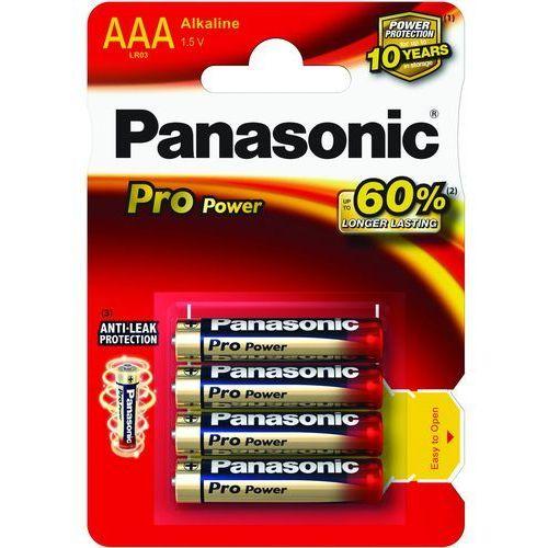 Duracell 8 x panasonic alkaline pro power lr03/aaa (blister) (5410853039006)