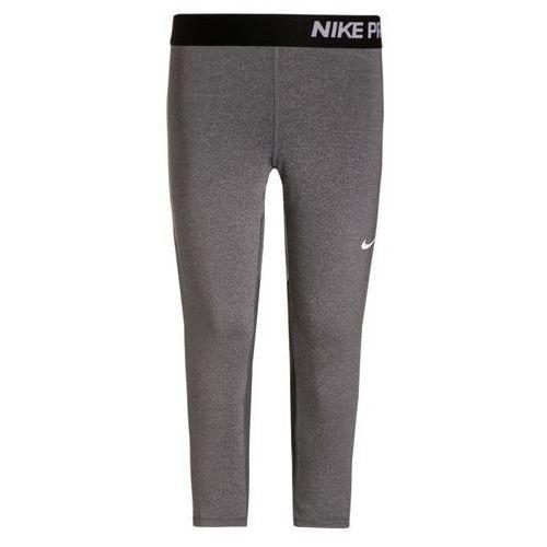 Nike Performance G NIKE PRO DRY Legginsy dark grey heather/dark grey/black/white od Zalando.pl