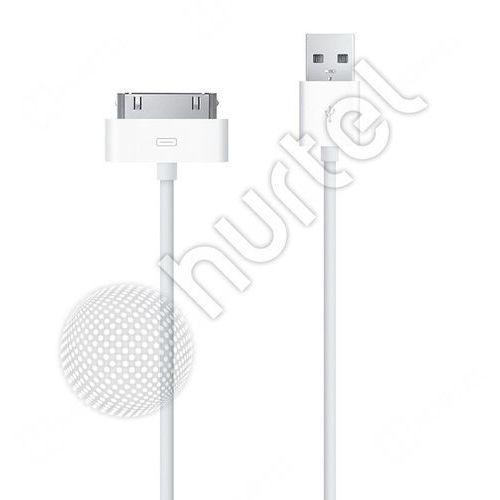 Kabel USB iPod iPhone 4S 4 iPad 2 3 30pin 2m z kategorii Kable, taśmy i przejściówki