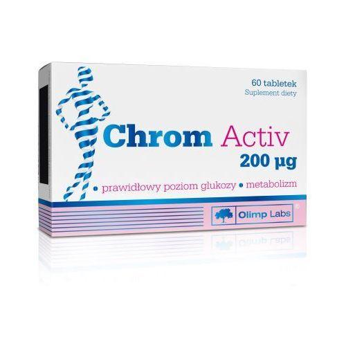 Tabletki Chrom Activ 200mcg tabl. 60 tabl.