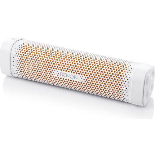 Głośnik mobilny DENON Envaya Mini DSB100WTEM High Gloss Biało-pomarańczowy + DARMOWY TRANSPORT! + Zamów z DOSTAWĄ JUTRO!, ENVAYA Mini White