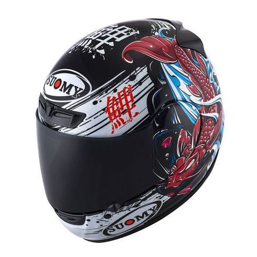 Kask apex japan black/red integralny marki Suomy