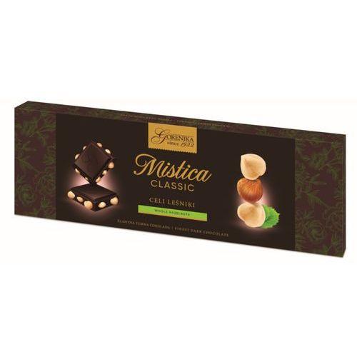 MISTICA czekolada gorzka z całymi orzechami laskowymi 250g