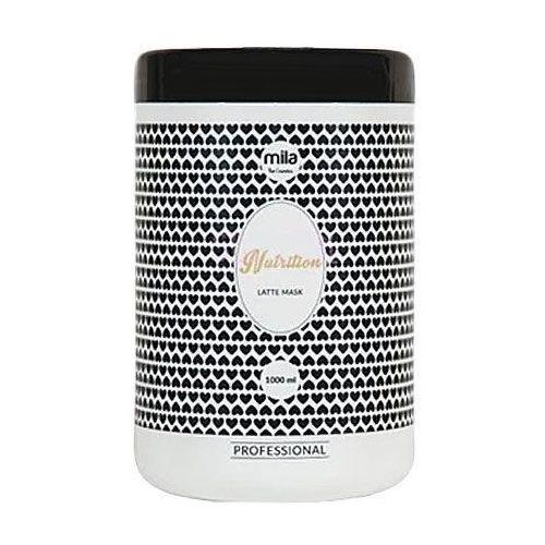 Mila Nutrition Latte Mask, maska z proteinami mleka, idealna po koloryzacji włosów 1000ml (5902067274842)