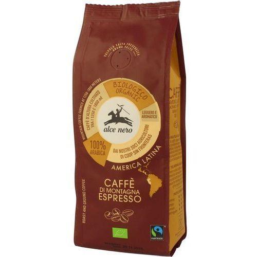 Kawa 100% arabica espresso 250g bio fair trade marki Alce nero