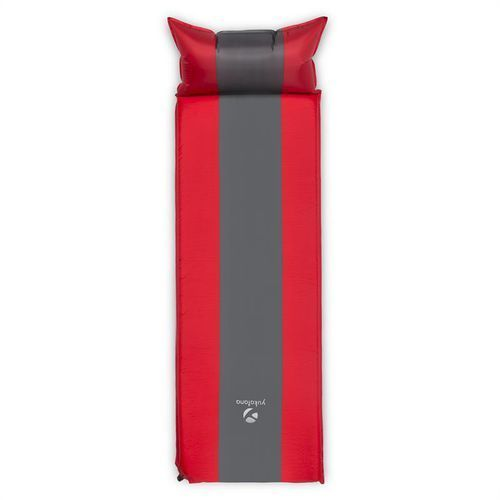 Yukatana Goodsleep 7 izomata/karimata 7cm materac powietrzny samopompująca czerwono-szara