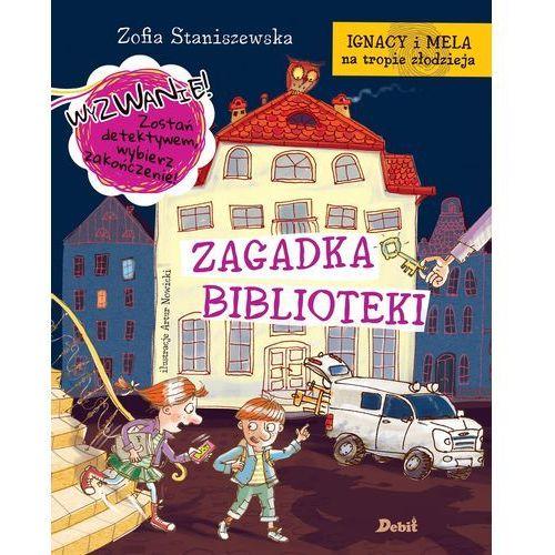 Zagadka biblioteki. Ignacy i Mela na tropie złodzieja - Zofia Staniszewska, Staniszewska Zofia