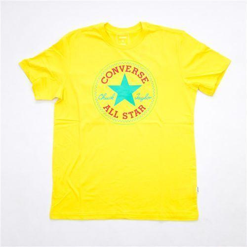 Converse Koszulka - core seasonal cp tee fresh yellow (fresh yellow) rozmiar: xxl