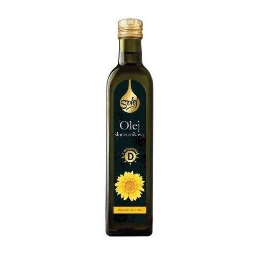Olej słonecznikowy z witaminą d 250ml marki Oleofarm