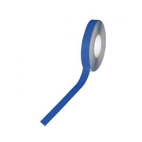 Taśma antypoślizgowa - drobne ziarno 50 mm x 18,3 m, niebieska