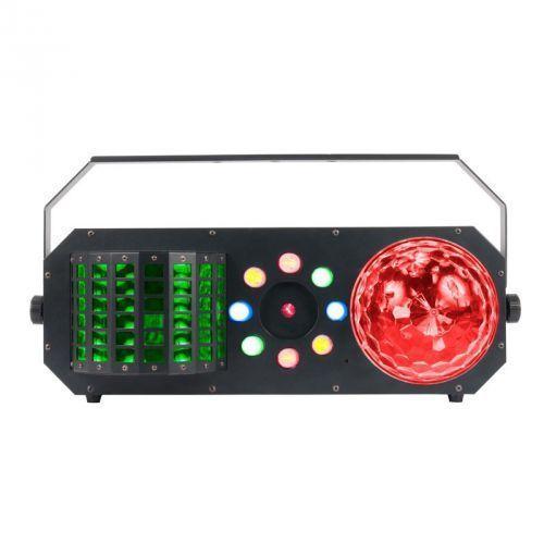 American dj boom box fx1 efekt świetlny led dmx 4 w 1 - 2 x flower, laser, wash