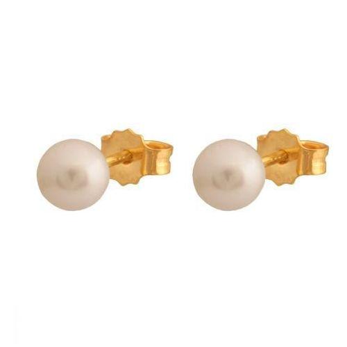 Złote kolczyki z Perłą (5900025291467)
