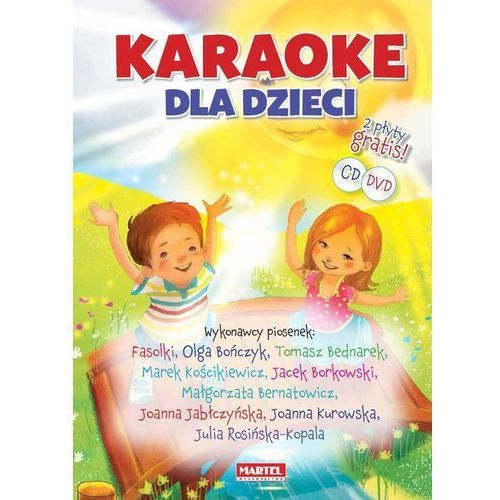 Karaoke dla dzieci + CD/DVD - Praca zbiorowa (9788363546427)