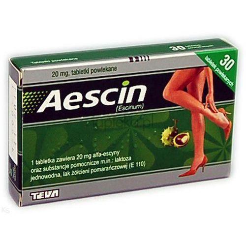 Aescin 20mg 30 tabletek (lek na żylaki)