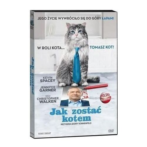 Jak zostać kotem ( booklet DVD) - Barry Sonnenfeld (9788392933175)