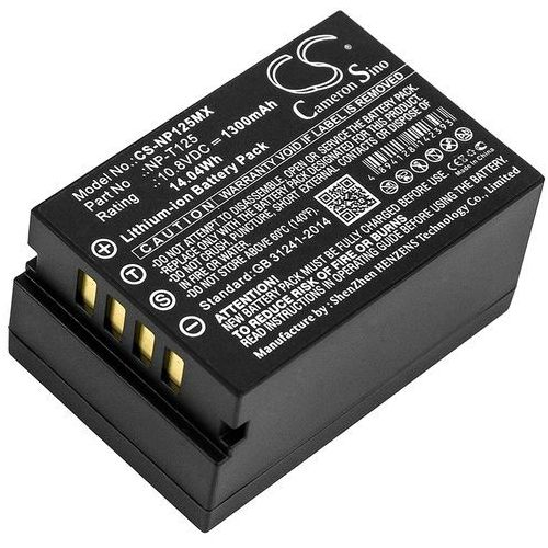 Fujifilm Medium Format GFX / NP-T125 1300mAh 14.04Wh Li-Ion 10.8V (Cameron Sino)