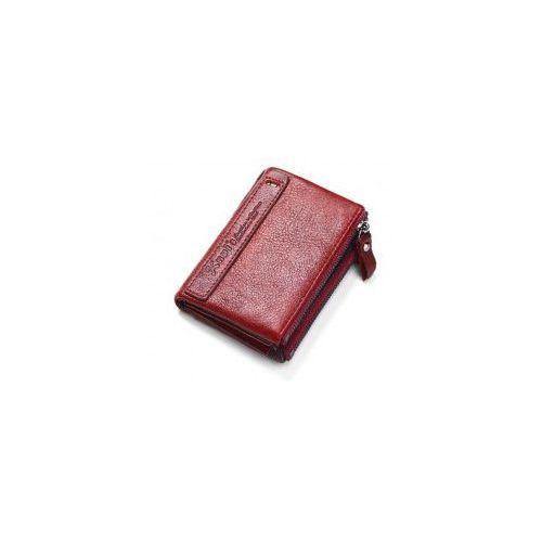d398e66851b91 Portfel damski mały czerwony skórzany na zamek marki Kavi's 87,00 zł Nazwa  producenta: KAVIS typ artykułu: portfel Długość portfela: krótka Płeć:  kobiety ...
