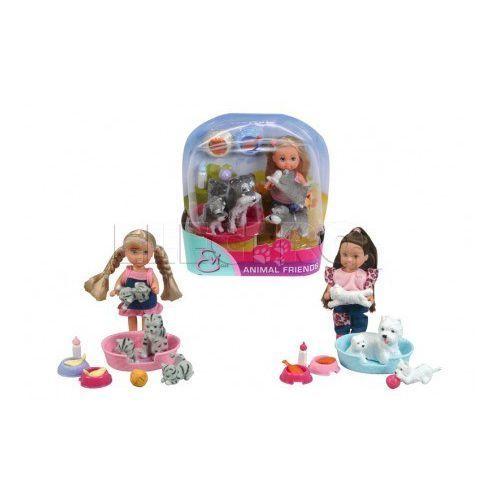 Zabawka SIMBA Evi ze zwierzątkami 105734191 z kategorii lalki