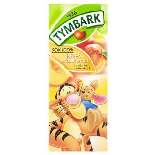 Sok 100% jabłko brzoskwinia 200 ml marki Tymbark