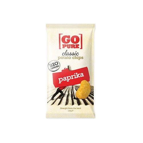 Chipsy o smaku paprykowym BEZGL. BIO 125 g - Go Pure, 1816