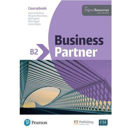 Business Partner B2 Coursebook and Basic MyEnglishLab Pack, Pearson