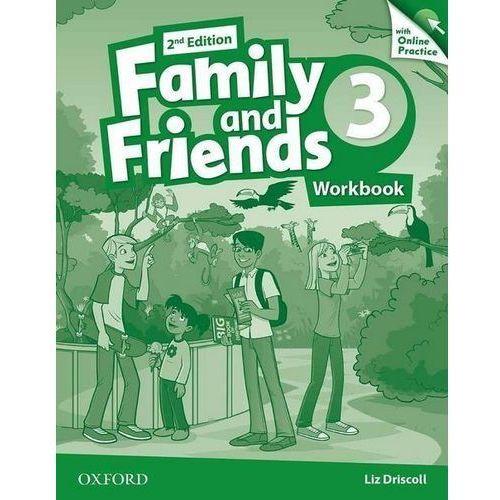 Family and Friends 2Ed 3. Ćwiczenia + Online Practice Pack, oprawa broszurowa
