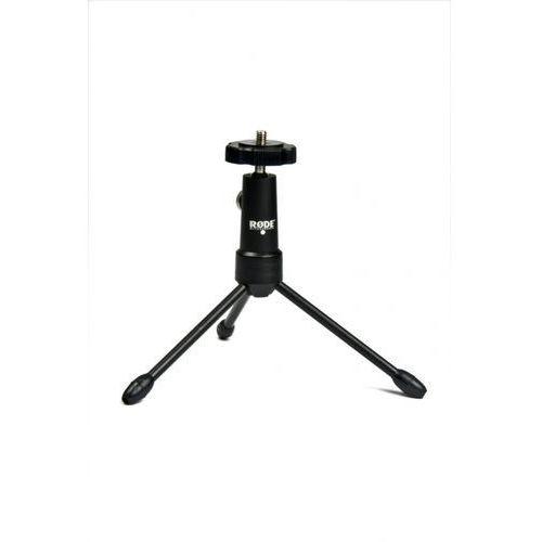 tripod statyw mini tripod, obrót 360°, adapter 1/4 do 3/8″, do dowolnego mikrofonu marki Rode