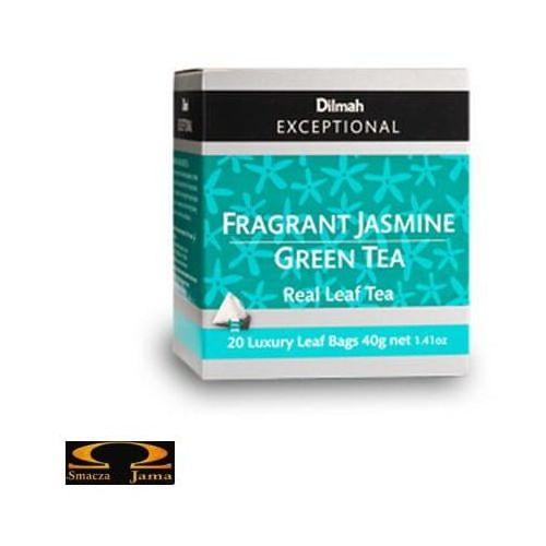 Herbata Dilmah Elegant Jasmine Green Tea - jasminowa królowa 20 torebek (9312631140453)