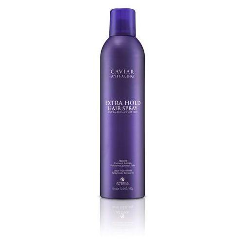 Alterna Caviar Extra Hold Hair Spray mocny lakier do włosów 340g
