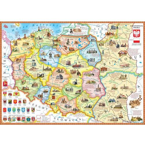 Układanka Polska. Mapa polityczno-historyczna, 5902020049036 (2746361)