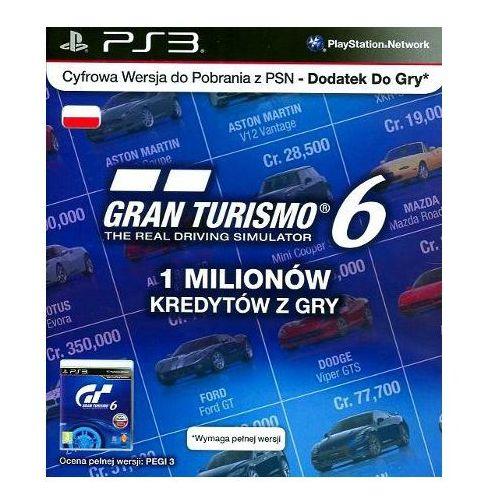 Sony Karta gran turismo 6 - 1 milion kredytów (0711719286288)