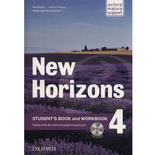 Horizons NEW 4 SB + WB OXFORD - Paul Radley, Daniela Simons, Colin Campbell (2010)