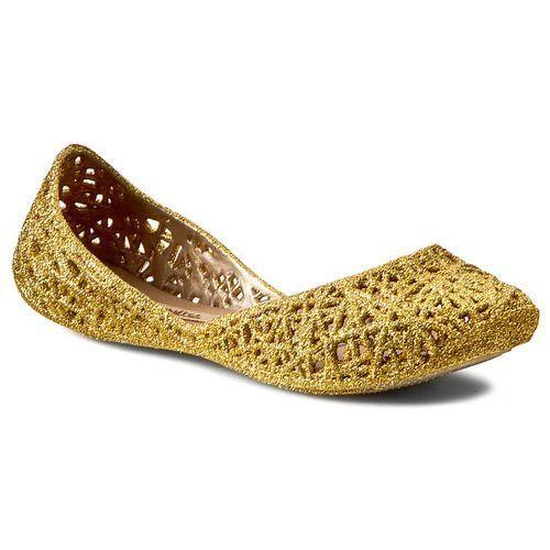 Baleriny MELISSA - Melissa Campana Zig Zag Iv Inf 31514 Gold Glitter 51969 ze sklepu eobuwie.pl