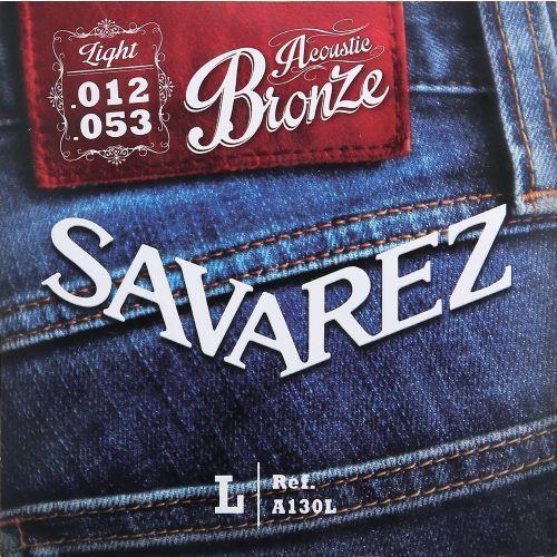 Savarez (668582) struny do gitary akustycznej acoustic bronze - a130cl - cst.-light.011-.052