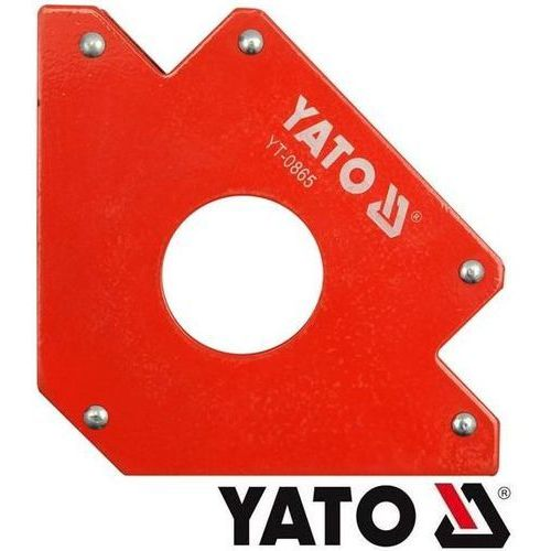 YATO Spawalniczy kątownik magnetyczny 102x155x17mm (YT-0864), towar z kategorii: Migomaty i półautomaty spawalnicze