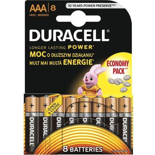 Duracell Bateria basic aaa 8 szt.