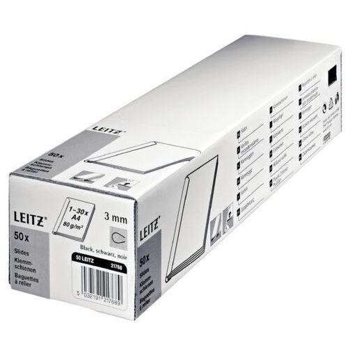Leitz Grzbiet wsuwany 15mm - czarny 21791