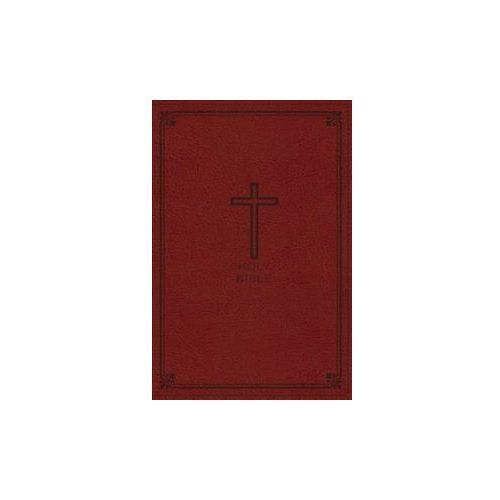 NKJV, Thinline Bible, Leathersoft, Red, Red Letter Edition, Comfort Print (9780718075484)