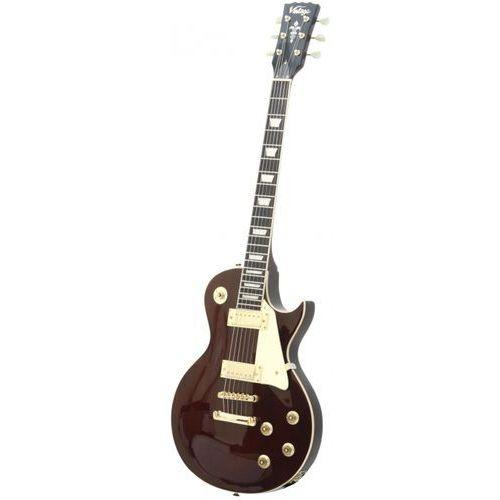 Vintage v100wr gitara elektryczna, wine red