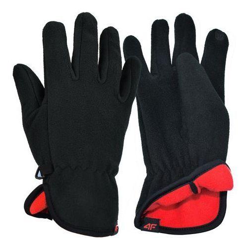 4f Uniwersalne rękawice polarowe z18 reu003 czarny xl