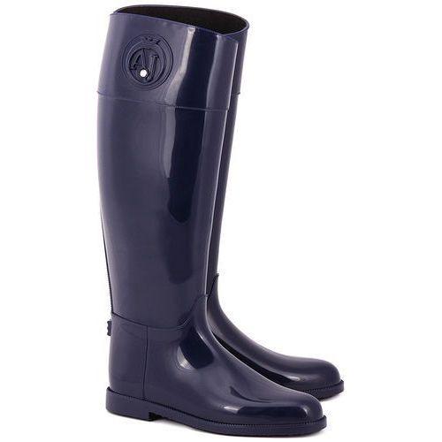 Stivali Pioggia - Granatowe Gumowe Kalosze Damskie - Z5590 50 (kalosz damski) od MIVO Shoes Shop On-line